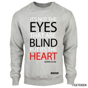 Blind Hearts Grey Sweatshirt
