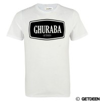Ghuraba t shirt in white