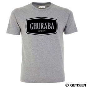 Ghuraba t shirt in grey