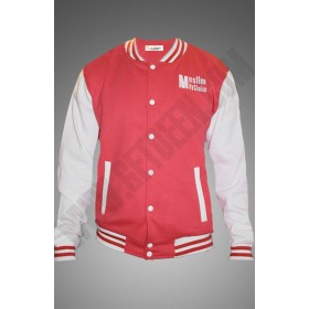 Red and White Muslim By Choice jacket